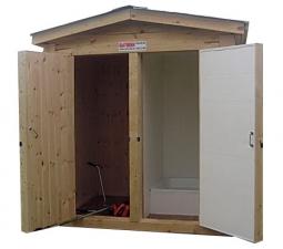 Душ туалет садово дачный размер 1 2х2 3