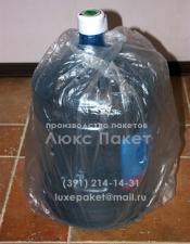 Пакеты для упаковки бутылей с питьевой водой