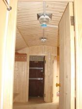 Вагон дом 9СД1 (передвижная бытовка) 9СД1 сауна с душевой кабиной и комнатой отдыха