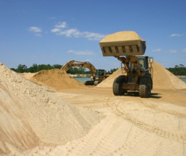 Песок карьерный сеяный