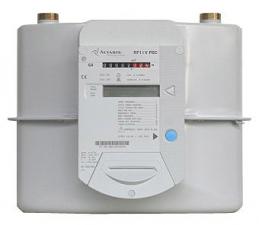 Счетчик газа с предварительной оплатой ITRON (Actaris) G6-RF1 iV PSC бытовой (с картой предоплаты)