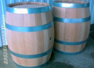 Бочка 50л скального дуба для производства вина, коньяка, виски