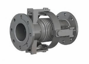 Сдвигово-поворотный компенсатор К011-10-Т16 фланцевый судовой