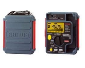 Измеритель сопротивления изоляции (мегаомметр) Sanwa MG1000