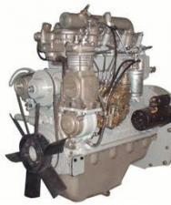 Двигатель ммз Д245.9-402М на зил130, 24В, 136 л. с