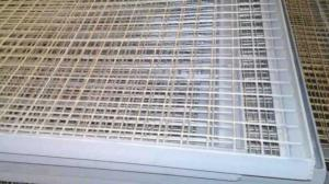Заборные секции из сварной сетки