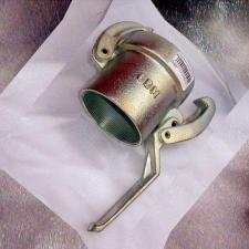 Соединение внешнее 65 мм быстроразъемное с резьбой (мама) для гасителя