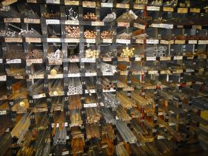 Продажа обрезков латуни, меди, алюминия (круг, брусок, фольга)