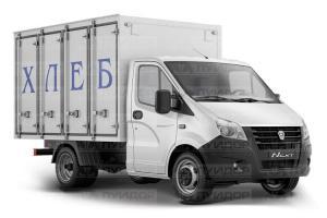 Хлебный фургон изготовление и ремонт