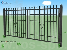 Металлические ограждения и ворота