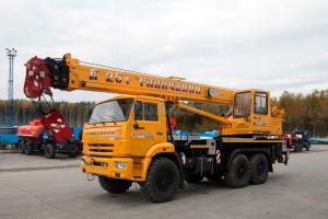 Новый автокран Галичанин КС-55713-5Л, 25т., длина стрелы 23,7м