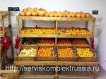Стеллаж СО-301 для фруктов и овощей массив