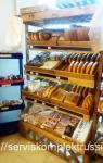 Стеллаж СХ-401 для хлеба массив