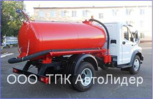 Ассенизатор ГАЗ-САЗ 39014 на шасси Газ Next