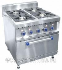Газовая плита 4-х горелочная ПГК-49 ЖШ