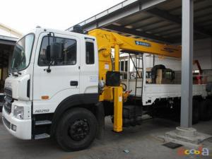 Продается КМУ Soosan SCS 1015 (10 тонн) на базе грузовика Hyundai HD 260(16 тонн) 2013г .