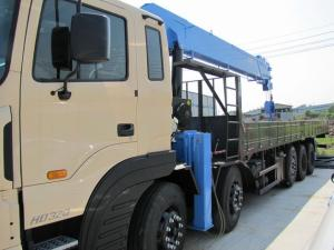 Продается крановая установка Dong Yang SS3506 (15 тонн) на базе грузовика Hyundai HD320 (25 тонн, 8x4) 2012 г.