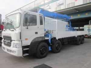 Продается крановая установка Kanglim KS5206 (15 тонн) на базе грузовика Hyundai HD320 25 тонн(8x4) 2012 года .