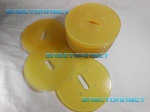 Полиуретановый скребок трубного конвейера ф 150
