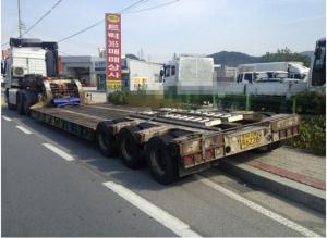 Продается Низкорамный трал Korea Traler 2004 год