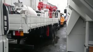 Продается крановая установка CSS 106 на базе грузовика Hyundai HD 260 2013 год.