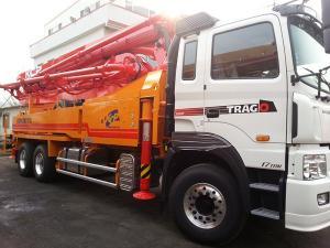 Продается бетононасос KCP42RX170 2013 год на базе Hyundai Trago