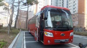 Продается туристический автобус KIA GranBird ParkWay, 2013 год