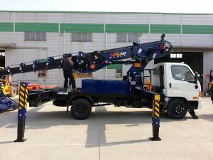 Продается автовышка Daehan NE 300 на базе грузовика Hyundai HD78 2013 год
