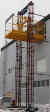Подъемник двухмачтовый секционный ПГД-1 г/п-500-3000 кг.