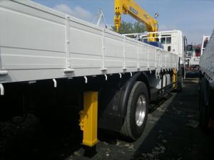 Продается крановая установка Soosan SCS 335 на базе грузовика Daewoo Novus 2012 год