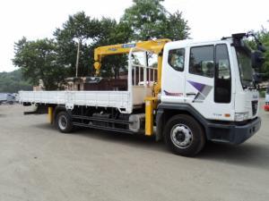 Продается крановая установка Soosan SCS 513 на базе грузовика Daewoo Novus 2013 год