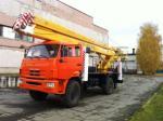 Автогидроподъемник ВС-22.06 на шасси КАМАЗ-43502