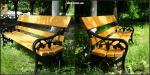Чугунная скамейка парковая «Камилла»