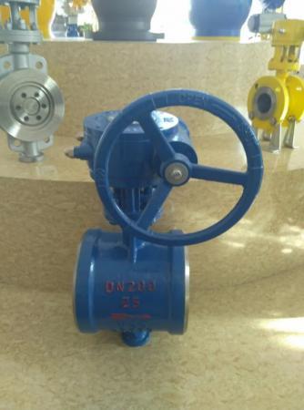 Затвор дисковый поворотный под приварку ДУ 900