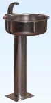 Умывальник с оптическим электронным включением на стойке