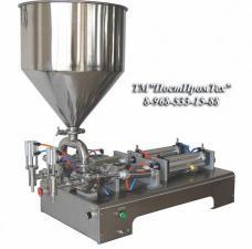 Поршневой дозатор густых продуктов  10-300 мл (2 сопла)