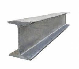 Двутавр нержавеющий 400х180х8,6х13,5мм AISI 304
