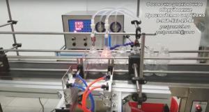 Автоматический дозатор жидкости 4 разливочных сопла (Магнитный шестеренчатый насос)