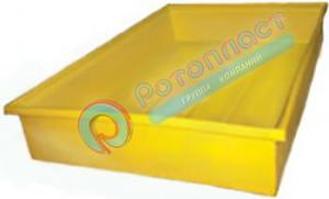 Емкость (лоток, ванна, контейнер) пластиковая открытая 500 литров