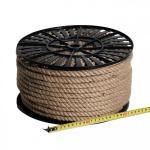 Веревка джутовая 10,0мм (на катушке 120м)