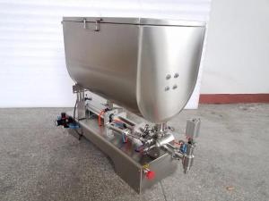 Поршневой дозатор густых продуктов 10-300 мл с горизонтальным перемешиванием