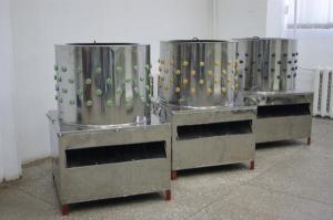 Перосъемная машина HW-651 BN 2.2 кВт 600мм (немецкие бильные пальцы)