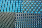 Перфорированный лист 1000 х 2000 мм сталь нерж Aisi 304 Rv 2,5-4,0 10,4 кг 1 мм