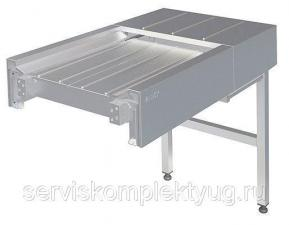 Промежуточный модуль транспортера для сбора грязной посуды «Каюр-М» 1015мм