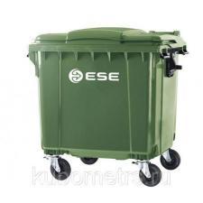 Мусорный контейнер пластиковый 770л Германия