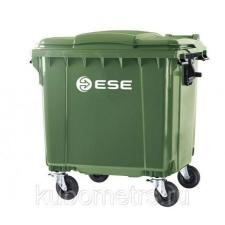 Мусорные контейнеры пластиковые 1,1м3 Германия