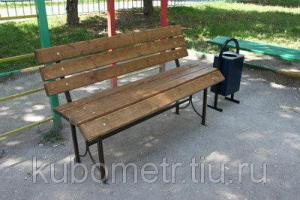 Скамейки парковые со спинкой повышенного комфорта