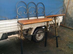 Могильный сварной столик