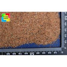 Кварцевый песок для аквариума коричневый 0,63-1,25 мм, 10 кг