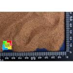 Кварцевый песок для аквариума коричневый 0-0,63 мм, 10 кг